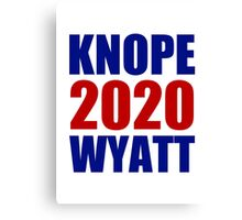 Knope Wyatt 2020 - Parks and Recreation Canvas Print