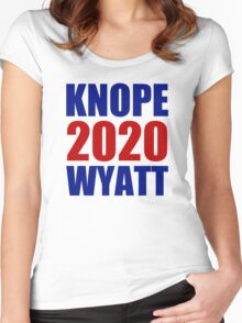 Knope Wyatt 2020 - Parks and Recreation Women's Fitted Scoop T-Shirt