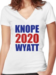 Knope Wyatt 2020 - Parks and Recreation Women's Fitted V-Neck T-Shirt
