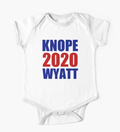 Knope Wyatt 2020 - Parks and Recreation One Piece - Short Sleeve