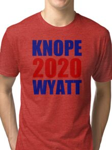 Knope Wyatt 2020 - Parks and Recreation Tri-blend T-Shirt