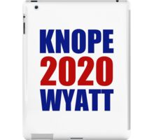 Knope Wyatt 2020 - Parks and Recreation iPad Case/Skin