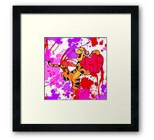 Valentine Tigger Framed Print