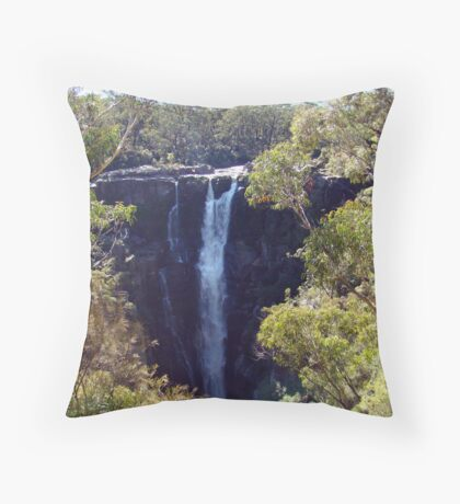 Waterfalls near Robertson Throw Pillow