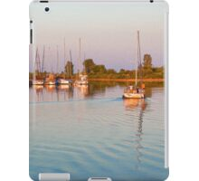 Impressions of Summer - Sailing Home at Sundown iPad Case/Skin