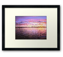 Colaboration with Martin Becker 2 Framed Print