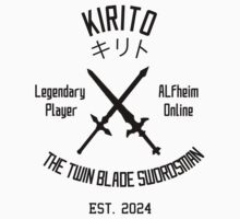 ALO Twin Blade Swordsman (Black) by Nguyen013