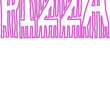 Pizza Word Art Design by Katelock