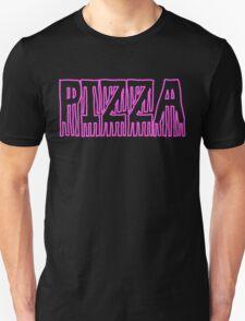 Pizza Word Art Design Unisex T-Shirt