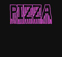 Pizza Word Art Design Womens Fitted T-Shirt