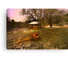 Lavender Haze - Hill End - The HDR Series Canvas Print