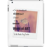 The Ultimate Art Project iPad Case/Skin