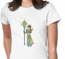 Anime Style Blood Elf Priest Womens Fitted T-Shirt