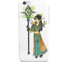 Anime Style Blood Elf Priest iPhone Case/Skin