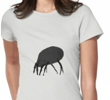 House Dust Mite Womens Fitted T-Shirt