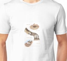 U IS FOR UNDERGROUND From A Bull Terrier's Alphabet. Unisex T-Shirt