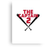 The Captain Canvas Print