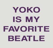Yoko Is My Favorite Beatle by Apocalyptopia