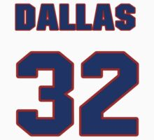 National baseball player Dallas Beeler jersey 32 T-Shirt