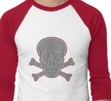 Pirate Squeezebones Weathered Blue/Red T-Shirt