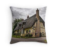 Church Cottage. Throw Pillow