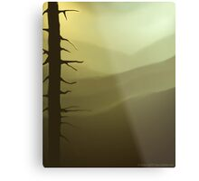 The Highest Snag Metal Print
