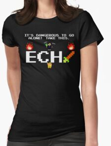 JonTron- It's Dangerous to go alone! Womens Fitted T-Shirt