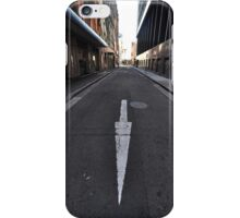 Wilmot Street Arrow, Sydney, Australia 2013 iPhone Case/Skin