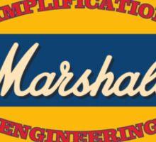 Vintage marshall amp Sticker