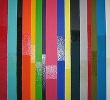 Shiny sandy stripes by JaneS