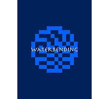 Waterbending ultra retro Photographic Print