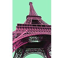 Le Style Pop Art De La Tour Eiffel Photographic Print