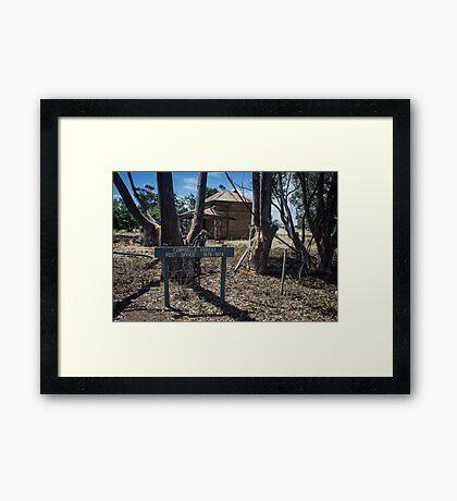 Campbells forest post office #1 Framed Print
