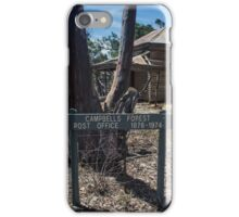 Campbells forest post office #1 iPhone Case/Skin