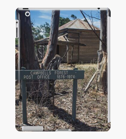 Campbells forest post office #1 iPad Case/Skin