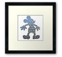 Epcot Mickey Framed Print