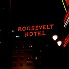 Roosevelt Hotel  by Audrey French