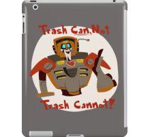 wreck-gar motivation iPad Case/Skin