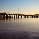 Dreamy Shorncliffe Pier by Silken Photography
