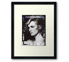 Jessica Lange Framed Print