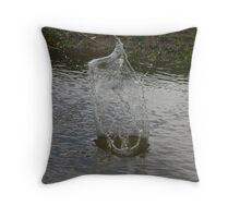 Splash! Throw Pillow