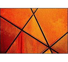 Rusting Metal Photographic Print