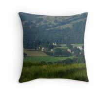 Yorkshire Countryside Throw Pillow