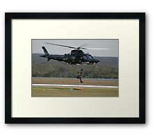 Air Sea Rescue Demonstration @ Nowra Airshow 2008 Framed Print