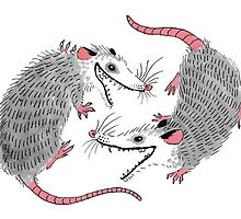 Double Possums by Zagreus