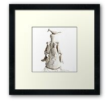 Yoruba Crown: Respect The Givers Of Life Framed Print