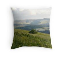 The Pennines... Throw Pillow