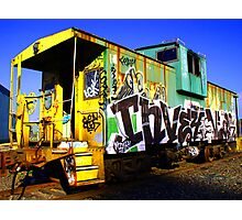 Caboose 1 Photographic Print