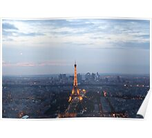 Paris At Twilight Poster