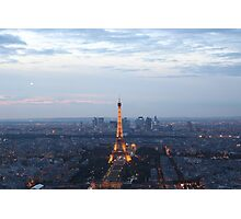 Paris At Twilight Photographic Print